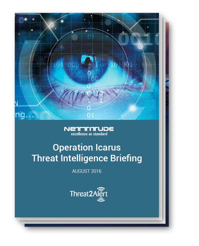 Operation Icarus Threat Intelligence Briefing - August 2016
